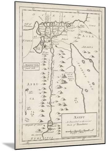 Egypt as Described by Herodotus--Mounted Giclee Print