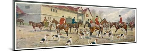 At the Meet-George Wright-Mounted Giclee Print