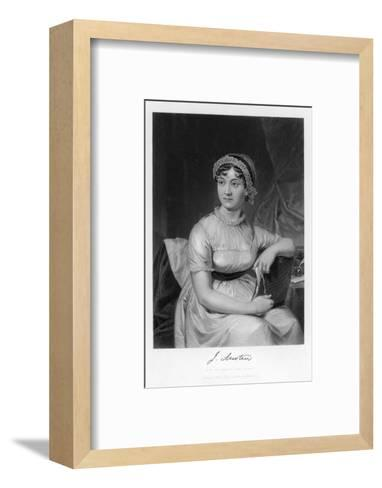 Jane Austen English Novelist--Framed Art Print