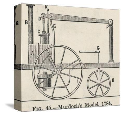 William Murdoch's Locomotive Engine-Robert H. Thurston-Stretched Canvas Print