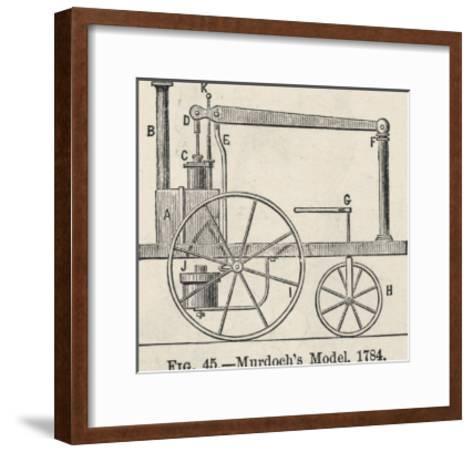 William Murdoch's Locomotive Engine-Robert H. Thurston-Framed Art Print