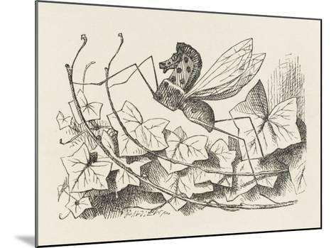 The Rocking-Horse Fly-John Tenniel-Mounted Giclee Print