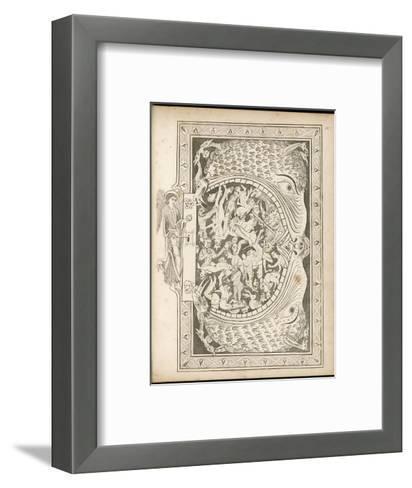 The Gates of Hell--Framed Art Print