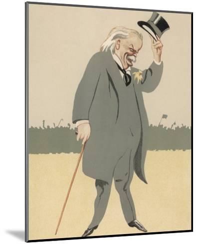 David Lloyd-George British Politician-Bert Thomas-Mounted Giclee Print