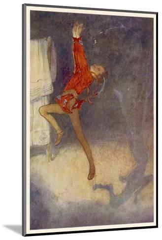 Peter Pan Dances with His Shadow-Alice B^ Woodward-Mounted Giclee Print