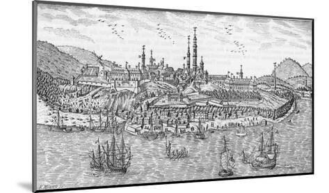 General View of Quebec and the St. Lawrence River--Mounted Giclee Print