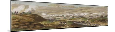 Peninsula Campaign Battle of Corunna Soult Tries to Prevent the English from Embarking-T. Yung-Mounted Giclee Print