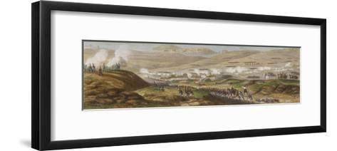 Peninsula Campaign Battle of Corunna Soult Tries to Prevent the English from Embarking-T. Yung-Framed Art Print