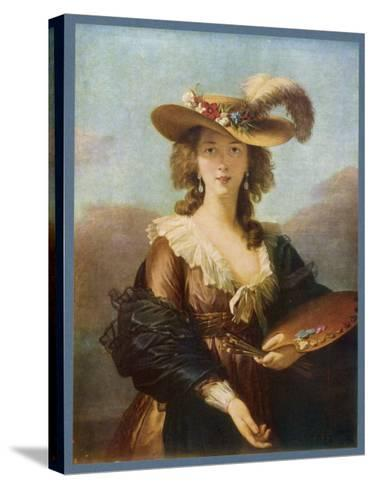 Elisabeth Vigee le Brun (Nee Vigee) French Artist--Stretched Canvas Print