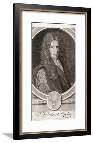 John Locke Philosopher--Framed Art Print
