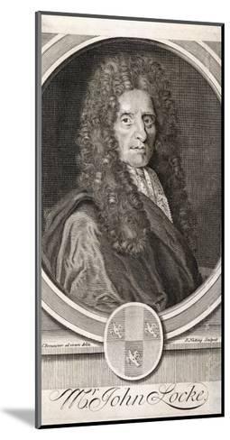 John Locke Philosopher--Mounted Giclee Print