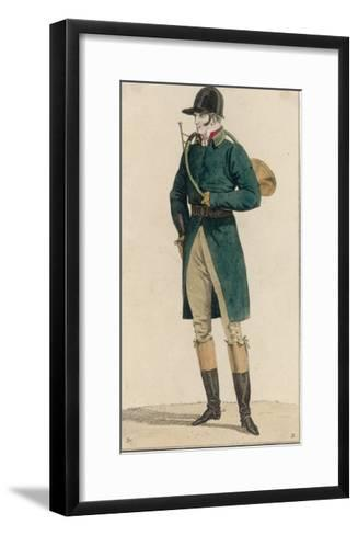 Hunting Dress 1813--Framed Art Print