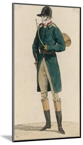 Hunting Dress 1813--Mounted Giclee Print