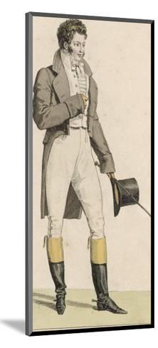 Male Riding Dress 1813--Mounted Giclee Print