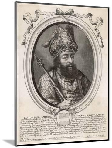 """Shah Jahan I """"Le Grand Mogol Ou l""""Empereur d""""Indostan"""" Mughal Emperor from 1628 to 1658--Mounted Giclee Print"""