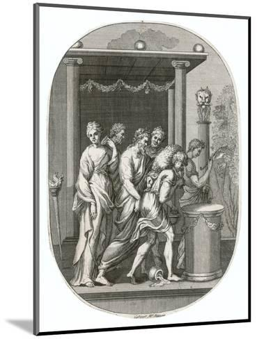 Jason and His Fellow Argonauts Reach Colchis and Steal the Golden Fleece--Mounted Giclee Print