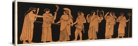 The Marriage of Athena with Herakles--Stretched Canvas Print