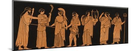 The Marriage of Athena with Herakles--Mounted Giclee Print