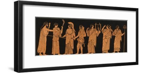 The Marriage of Athena with Herakles--Framed Art Print
