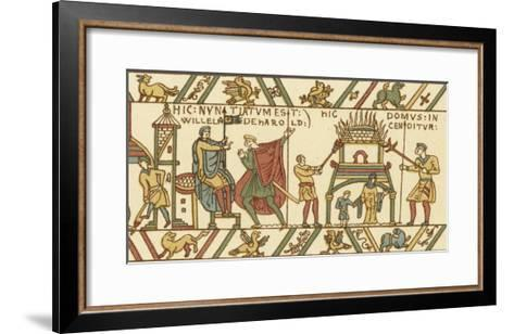 Bayeux Tapestry: Norman Conquest--Framed Art Print