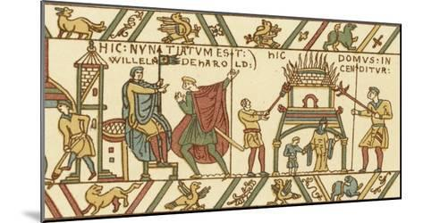 Bayeux Tapestry: Norman Conquest--Mounted Giclee Print