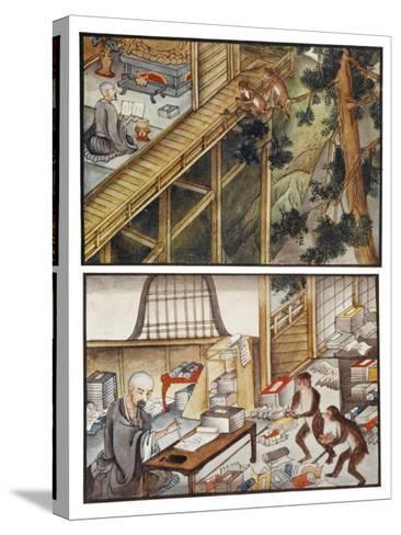 Monkeys Reincarnated-R. Gordon Smith-Stretched Canvas Print