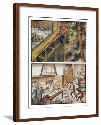 Monkeys Reincarnated-R. Gordon Smith-Framed Art Print
