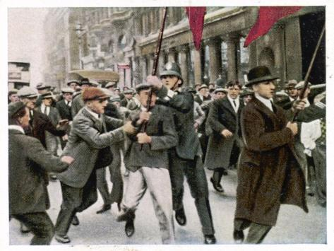 General Strike 1926--Stretched Canvas Print