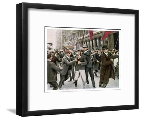 General Strike 1926--Framed Art Print