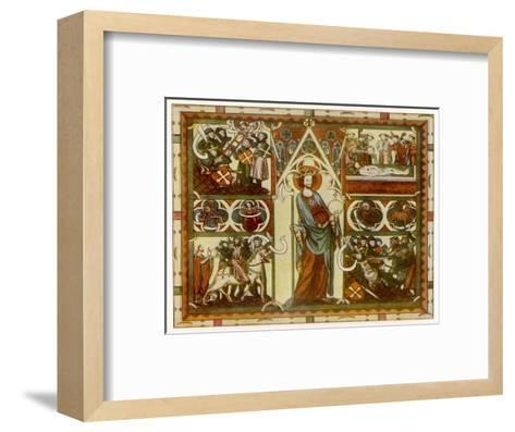 Olaf II Haraldsson Also Known as Saint Olaf King of Norway--Framed Art Print