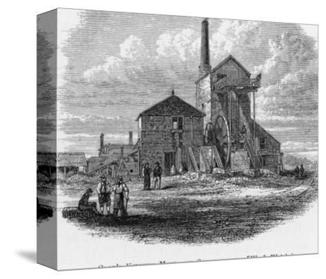 Richard Trevithick Senior's Steam-Whim at Cook's Kitchen Mine Cornwall--Stretched Canvas Print