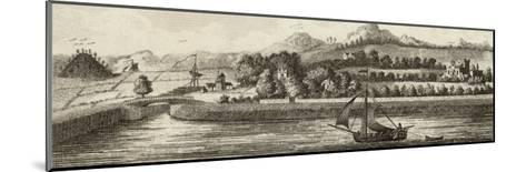Basin of Caledonian Canal at Muirtown Near Inverness-J. Swaine-Mounted Giclee Print