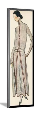 High Neck Dress 1922--Mounted Giclee Print