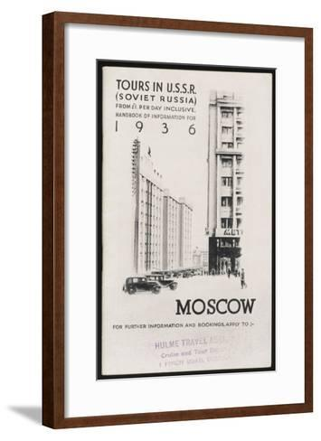 Moscow's Magnificent Modern Architecture--Framed Art Print