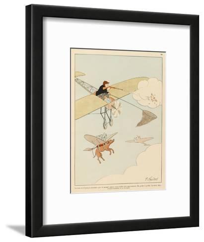Hunting was Never Like This-Joaquin Xaudaro-Framed Art Print