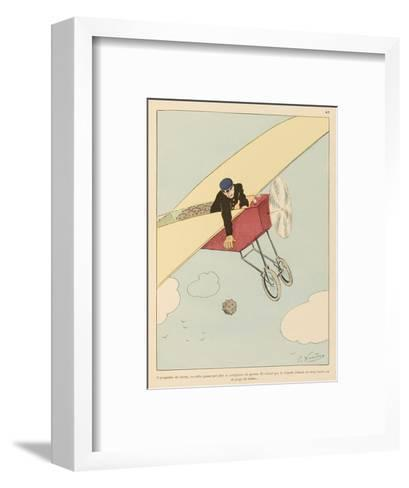 Alas There are Sure to be Ill-Disposed Persons-Joaquin Xaudaro-Framed Art Print