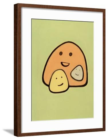 Smiles-Lin Maojung-Framed Art Print