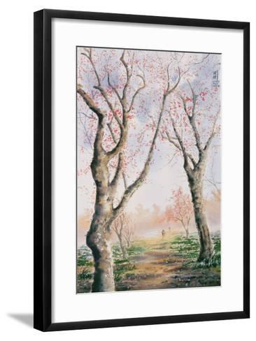 Plum Tree Lovers-Chen Kwodong-Framed Art Print