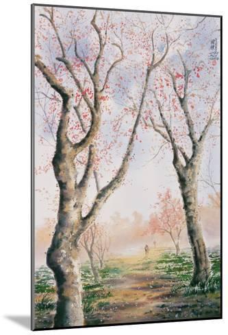 Plum Tree Lovers-Chen Kwodong-Mounted Giclee Print