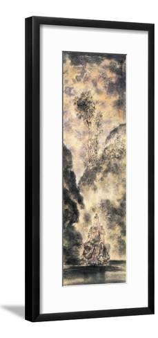 Kuanyin Practices Buddhist Rules-Chen Yang Si-Framed Art Print