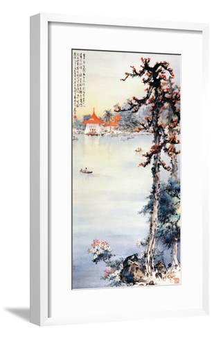 A Park in Taichung-Wong Luisang-Framed Art Print