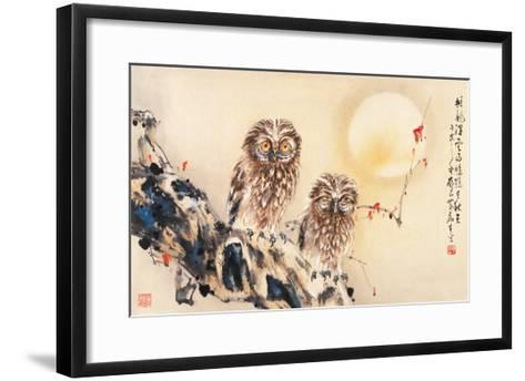 Lonely Night-Wong Luisang-Framed Art Print