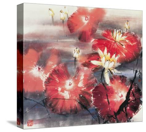 Red Angels-Wong Luisang-Stretched Canvas Print