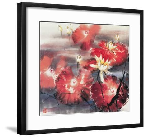Red Angels-Wong Luisang-Framed Art Print