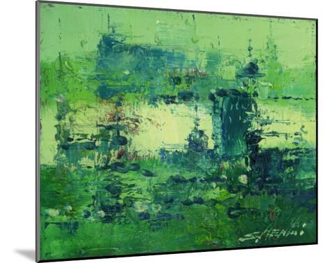 Color of Olympics Green 2-Shen Li-Mounted Giclee Print