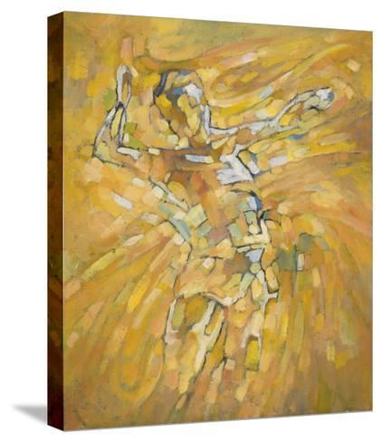 Volleyball-Hu Chang-Stretched Canvas Print