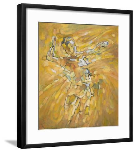 Volleyball-Hu Chang-Framed Art Print