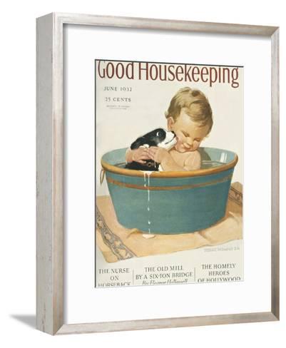 Good Housekeeping, June, 1932--Framed Art Print