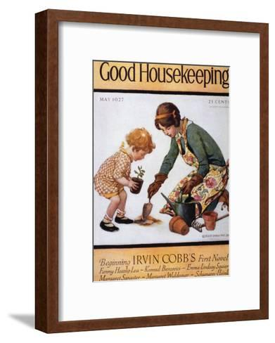 Good Housekeeping, May, 1927--Framed Art Print