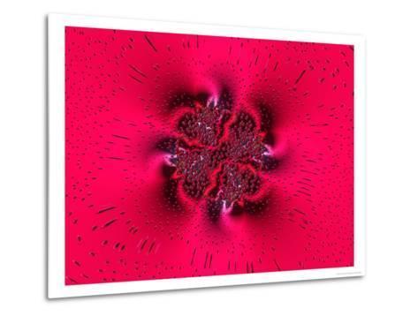 Pink Abstract Pattern-Albert Klein-Metal Print